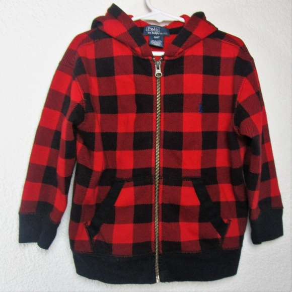 Ralph Hoodie By Buffalo Lauren Plaid Polo wPNkZO08nX